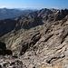 Im Aufstieg vom Refuge de l'Erco zum Monte Cinto - Seitenlick auf ca. 2.540 m.