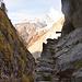 Sentier de montée à Bergji