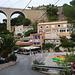 viaduc et hameau de Méjean .