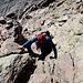 Im Aufstieg zum Monte Cinto - Weiterhin gibt's die eine oder andere Kraxelstelle.