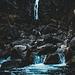 der wirklich einrucksvolle Wasserfall Puntid di Là