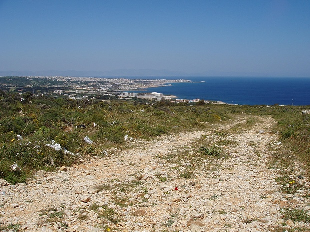 Blick auf Rhodos City