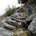 durch die Felsen