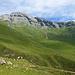 Aussicht über Faschas und Alp Nursin.