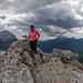 Gipfel Punta Fiames 2240m