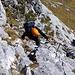 Im Hochiss-Klettersteig