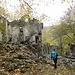 Il borgo fantasma di Lavacchielli, ormai da anni completamente abbandonato dalla comunità di scalpellni che lo abitava, un posto suggestivo.