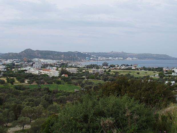 Blick vom Mount Smith nach Süden