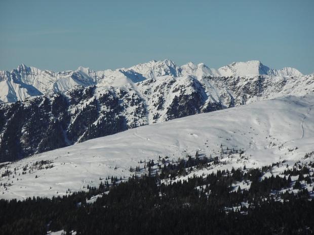 Im Hintergrund Karwendelberge