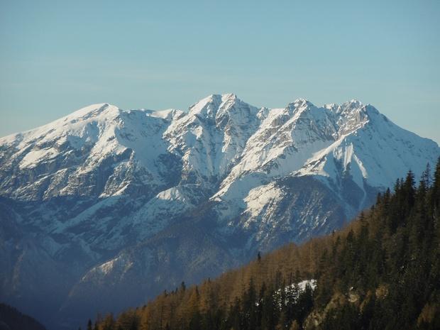 Karwendelberge im Zoom
