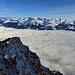 Blick vom Alpspitz hinüber zur Alvierkette