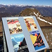 Historische Plakate auf dem Gipfel