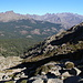 Im Aufstieg zwischen Bergerie de Colga und Bocca â Stazzona - Rückblick in einer Höhe von ca. 1.720 m.
