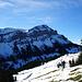 Unser erstes Ziel ist in Sicht, die Alphütte Oberpfyfferswald. Dort wartet ein leckeres Risotto und einiges mehr auf uns.