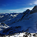 Panorama der Superlative: Auf dem Gipfel des Stellibodenhornes.