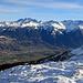 noch ein Blick vom Margelchopf hinüber nach Liechtenstein