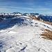 das grosse Gipfelplateau vom Margelchopf