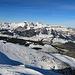 Aussicht vom Margelchopf in Richtung Westen, Alpstein