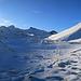 schöne wilde Winterstimmung beim Rückweg