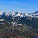 Panorama der Liechtensteiner Berge