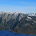 Liechtenstein mit Fürstensteig / Drei Schwestern / Alpspitz