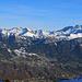 Liechtenstein mit Schönberg / Triesenberg / Augstenberg