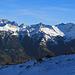 Liechtenstein mit Augstenberg / Naafkopf / Hinter und Vorder Grauspitz