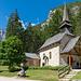 Schöne Kapelle am Pragser Wildsee