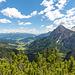 Blick vom Schwarzbergsattel ins Pragser Tal