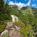Im Abstieg Richtung Käserhütte