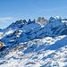 Blick zum Schächentaler Windgällen mit eindrücklicher Felslandschaft