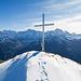 Gipfelkreuz Gamperstock