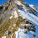 Abstieg über den Südgrat (Rückblick)