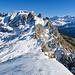 Abstieg über den Südgrat - grandiose Kulisse
