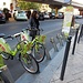 """wir brachten leider nur ein Velo """"frei"""" - sonst hätte der Stadtbummel wohl auf Zweirädern stattgefunden"""