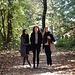 ... und zu meinen drei Töchtern im Wald