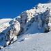 Schnee und Eis am Siwellen