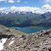 Der erster Oberengadiner See lässt sich sehen.