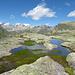 Bergsee mit herrlichem Aussicht