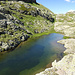 Einige Metern höher fanden wir noch einem See.