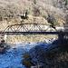 über diese Brücke führt ein Fahrradweg