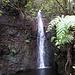 Ein richtiger Wasserfall, fast am Ende der Wanderung