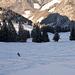 Cécile a vite réappris à skier...