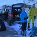 Um 10 Uhr morgens waren wir nun doch endlich am frostigen Ausgangspunkt Gärstere aus 1340m angelangt.