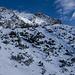 Der Gratrücken zum Gipfel
