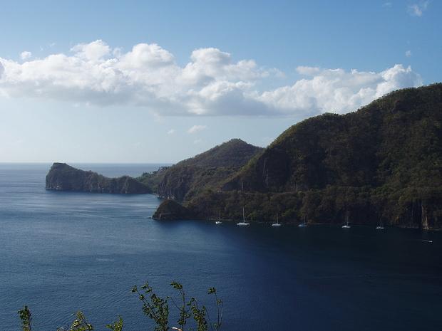 die blaue Karibik
