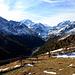 Blick zum Talschluß des Turtmanntal