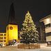 Atmosfera natalizia a Saas Fee