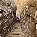 Abstieg via Leiterenweg<br /><br />Foto: R. Schlumpf