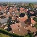 Die Dächer von Turckheim vom « Sentier des toits » aus gesehen.